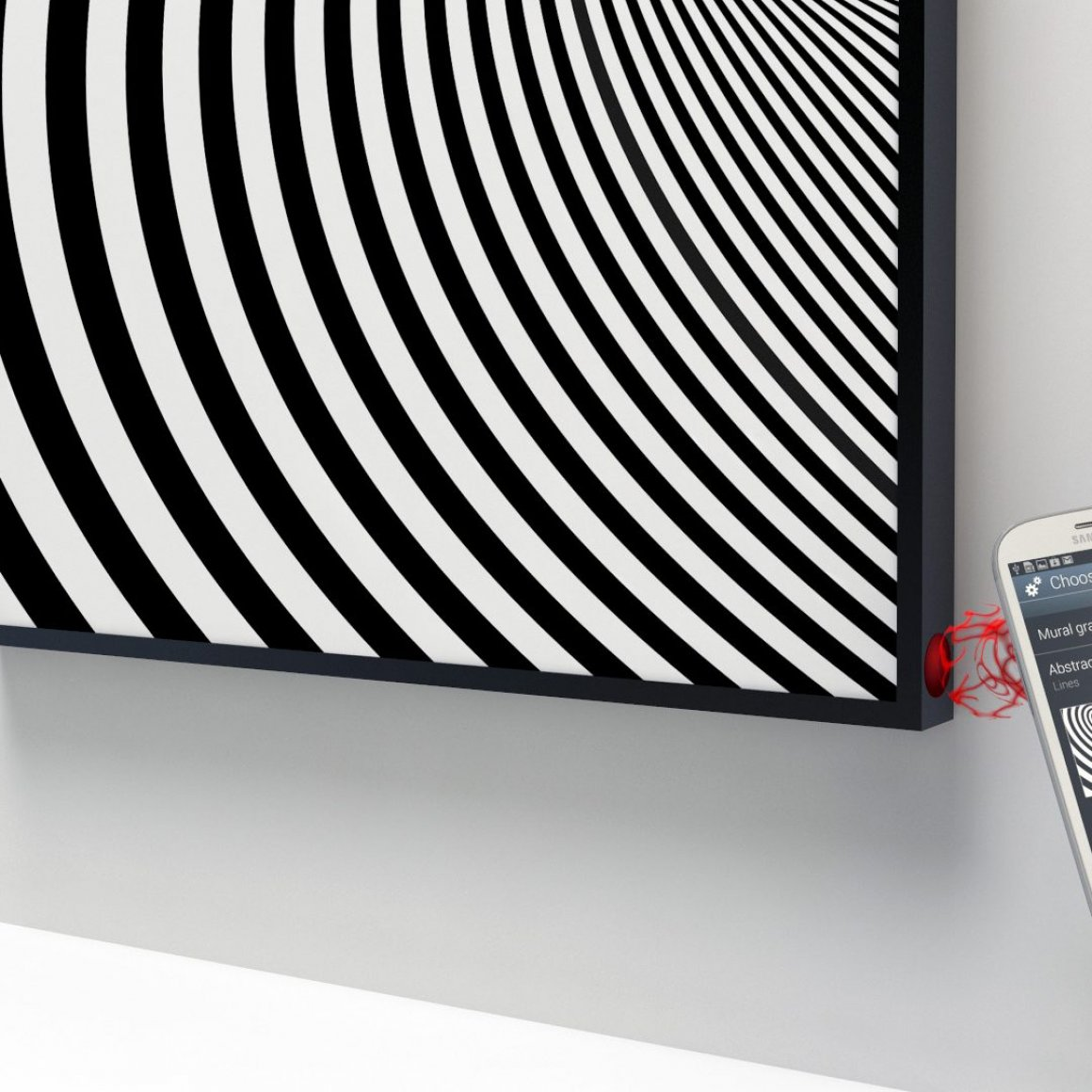E Ink Concepts Mural Pass Case Nail Display Portfolio Of Zoli Working Electronic Technology